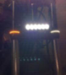 Honda VT1300 Fork Lights