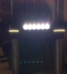 Honda Fury Fork Lights