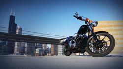 Honda Fury SLK-Customs Genesis Exhaust