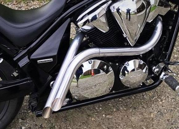 Cera Chrome BACKLASH Dual Tip Exhaust