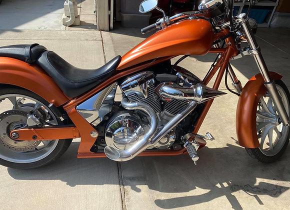 VT1300 Cera Chrome BIO HAZARD Exhaust