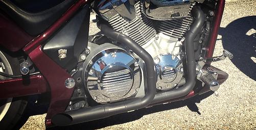 VTX1300 Exhaust