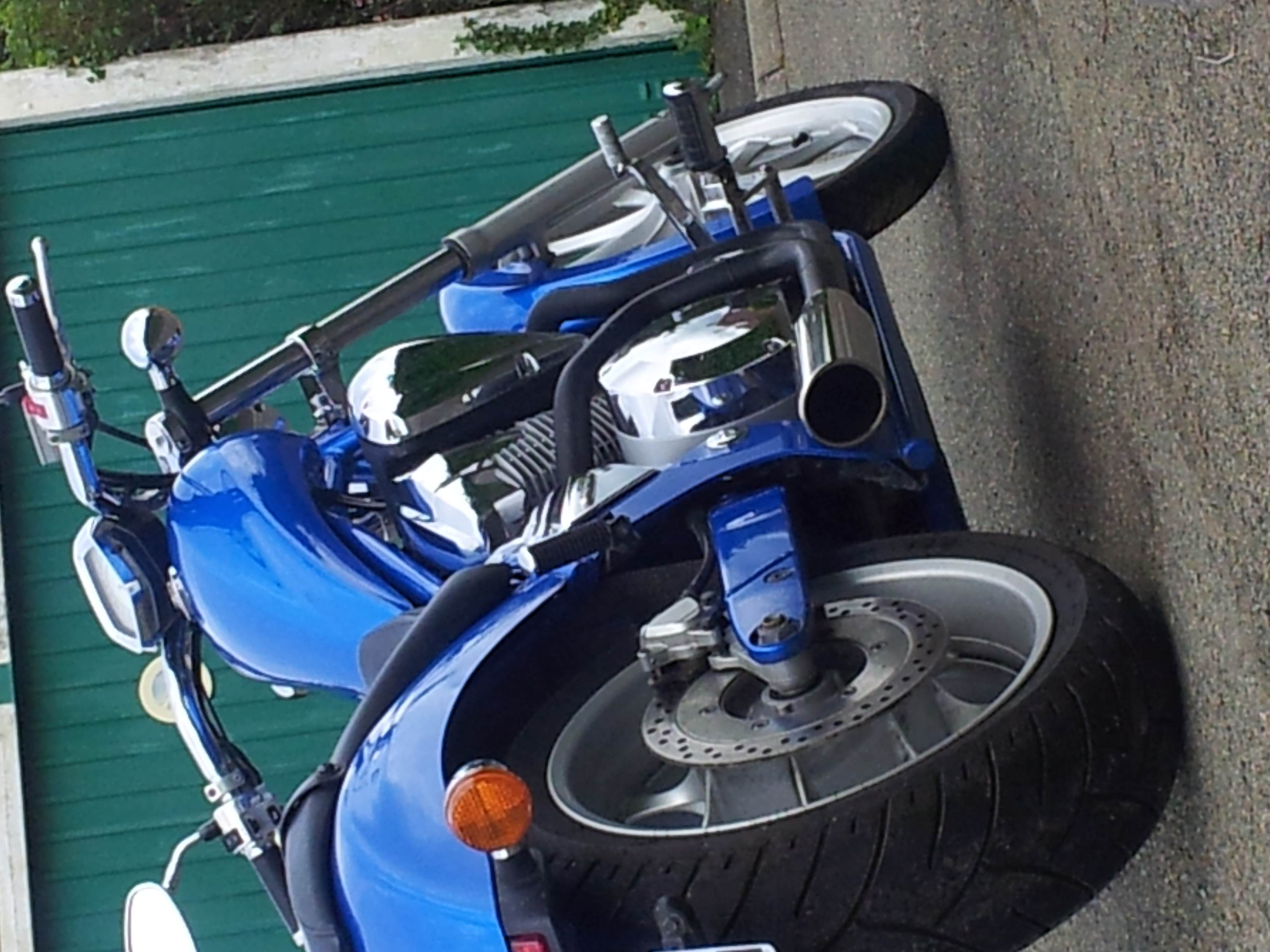 Honda VT1300 Exhaust
