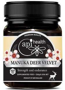 Manuka Honey (MGO 100+) & Deer Antler 250g