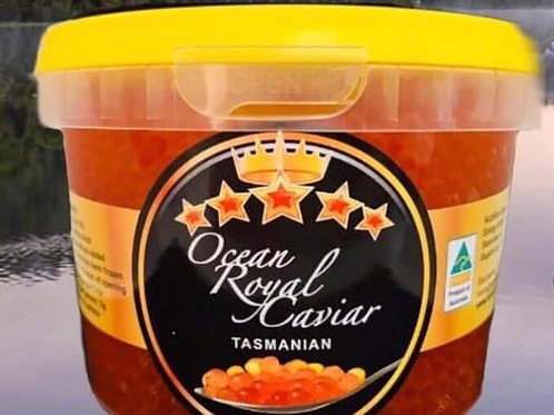 Ocean Tasmania Salmon  Red Caviar / Kosher 600g
