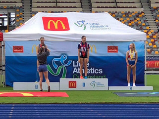 2018 Queensland Little Athletics Championships ⭐️ Ella Graumann
