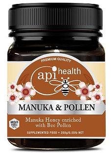 Manuka Honey (MGO 100+) & Pollen 250g
