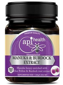 Manuka Honey (MGO 100+) & Burdock Extract 250g