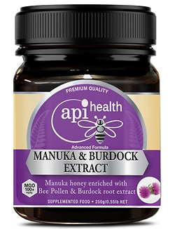 Manuka Honey (MGO 100+) & Burdock Extract 250g