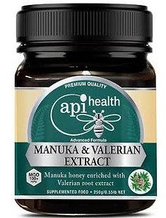 Manuka Honey (MGO 100+) & Valerian Extract 250g