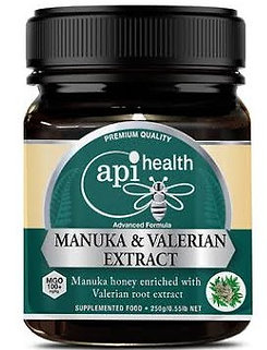 Manuka Honey (MGO 100+) & Valerian Extract 250g