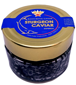 Black Royal Caviar / Sturgeon 100g