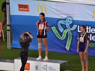 2018 Queensland Little Athletics Championships ⭐️ Luca Graumann