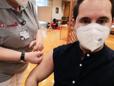 Erste Dosis des Corona Impfstoff