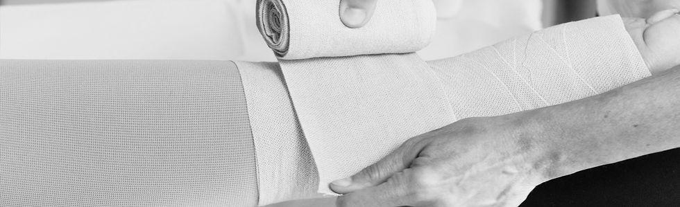 Komplexe Entstauungstherapie