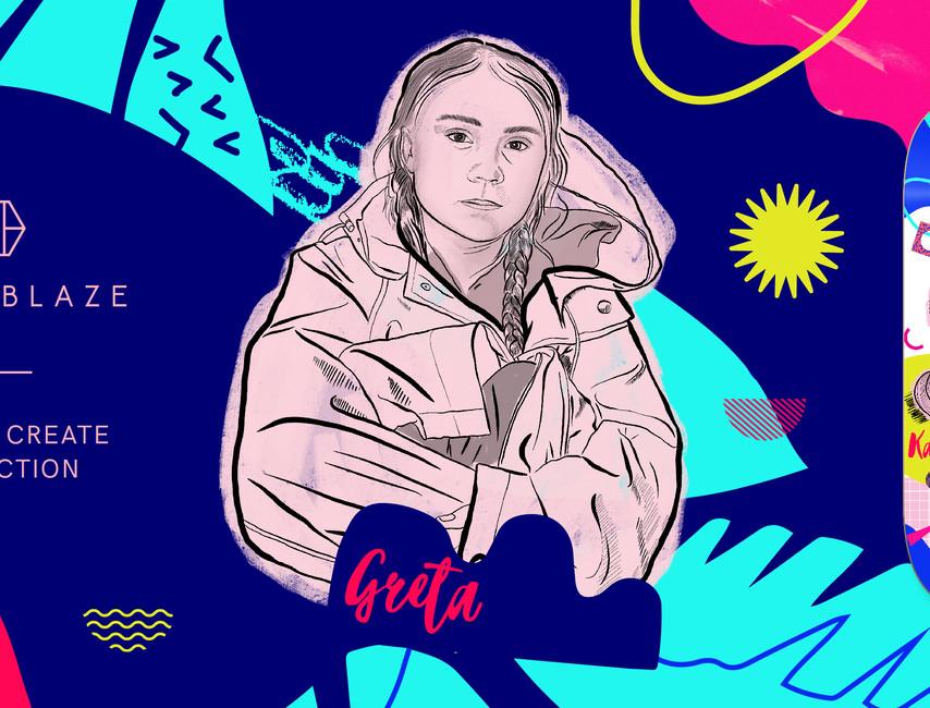Born to Create Greta