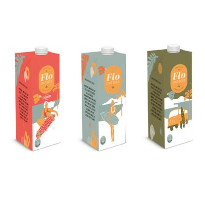 Flo Oat Milk Packaging