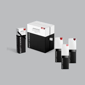 Beauty is Boring - Packaging