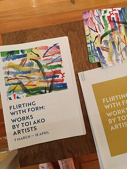 Flirting with form exhibition