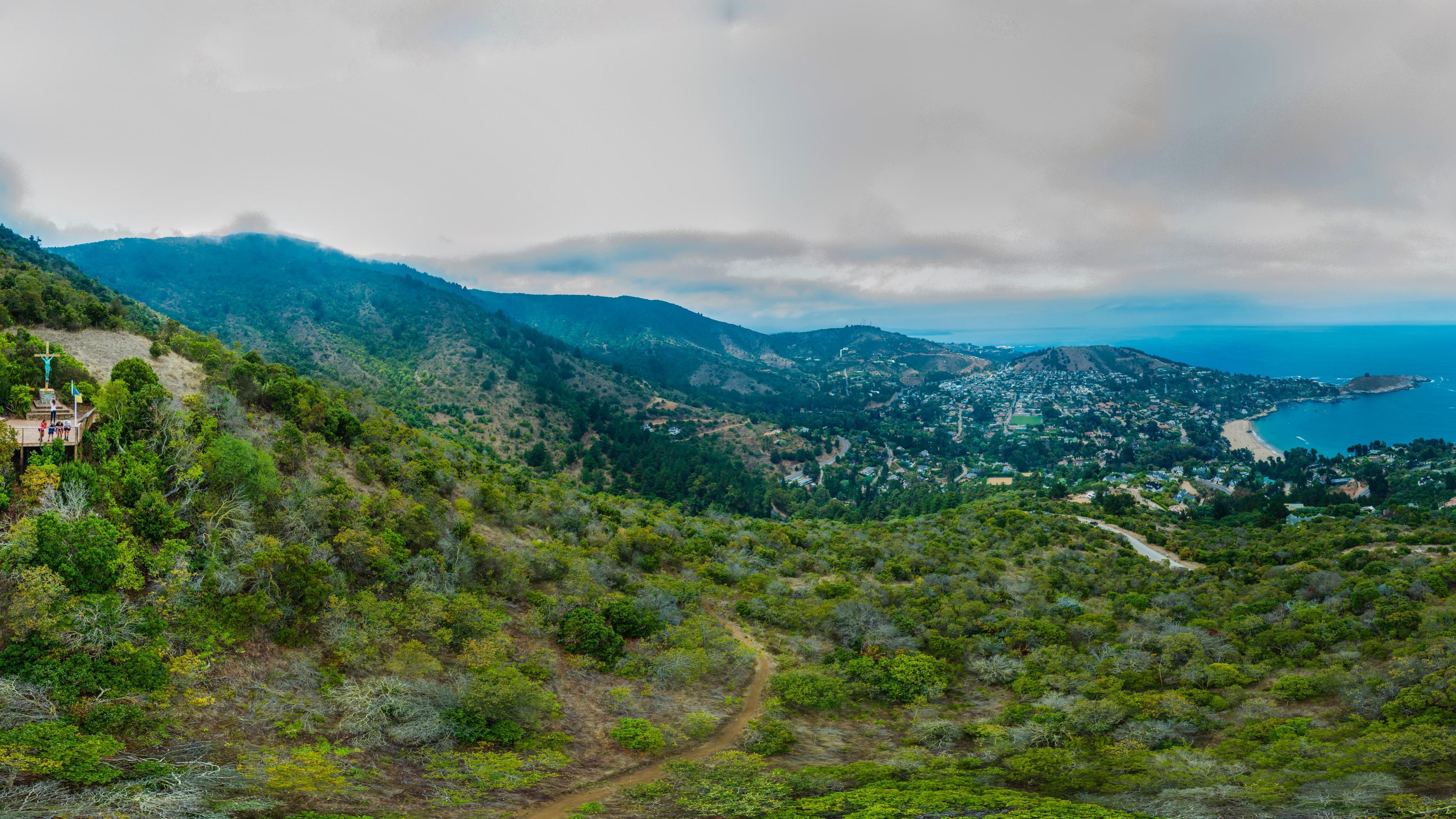Pano Cruz Parque El Boldo