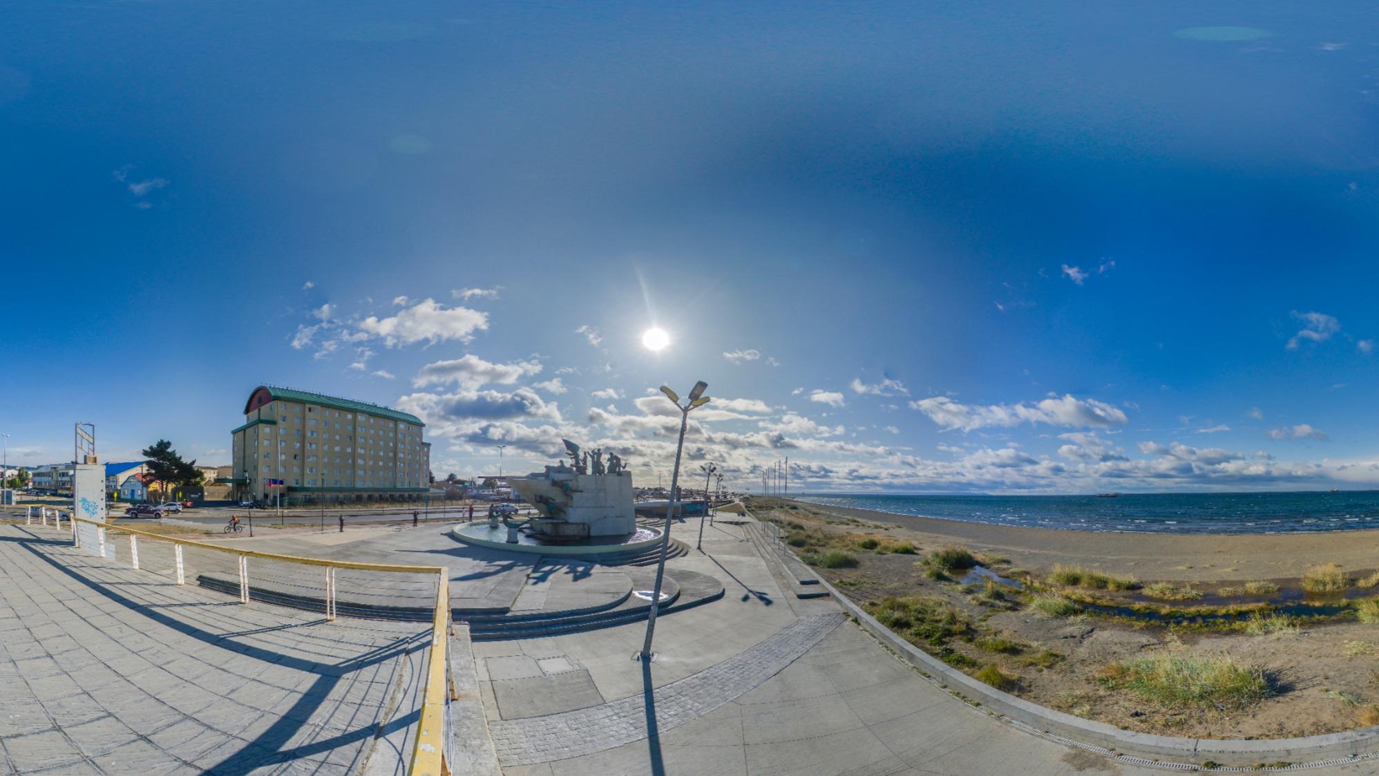 Monumento Tripulantes Goleta Ancud Punta Arenas