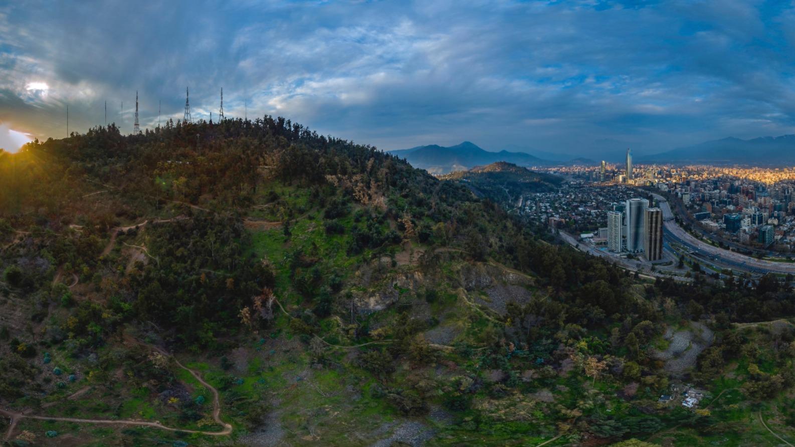 Cerro San Cristobal Cara Sur