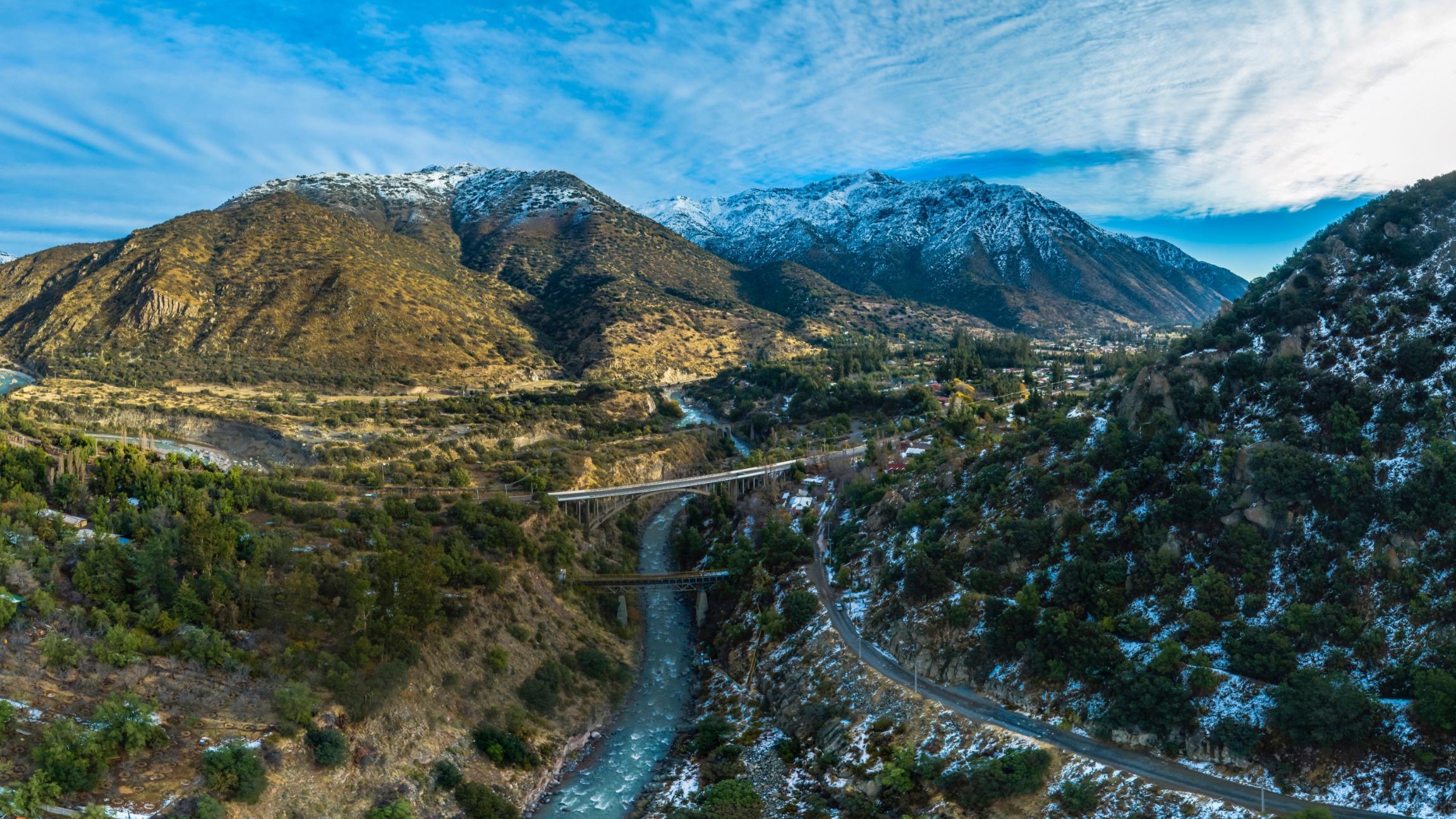 Río Colorado 2 Cajón del Maipo