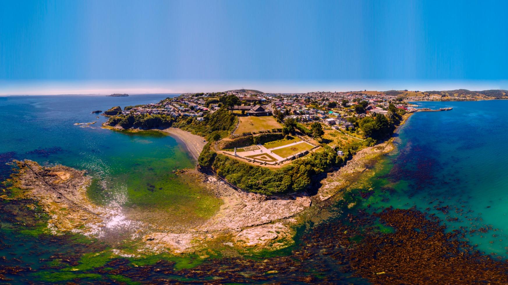 Fuerte San Antonio Ancud Isla de Chiloé