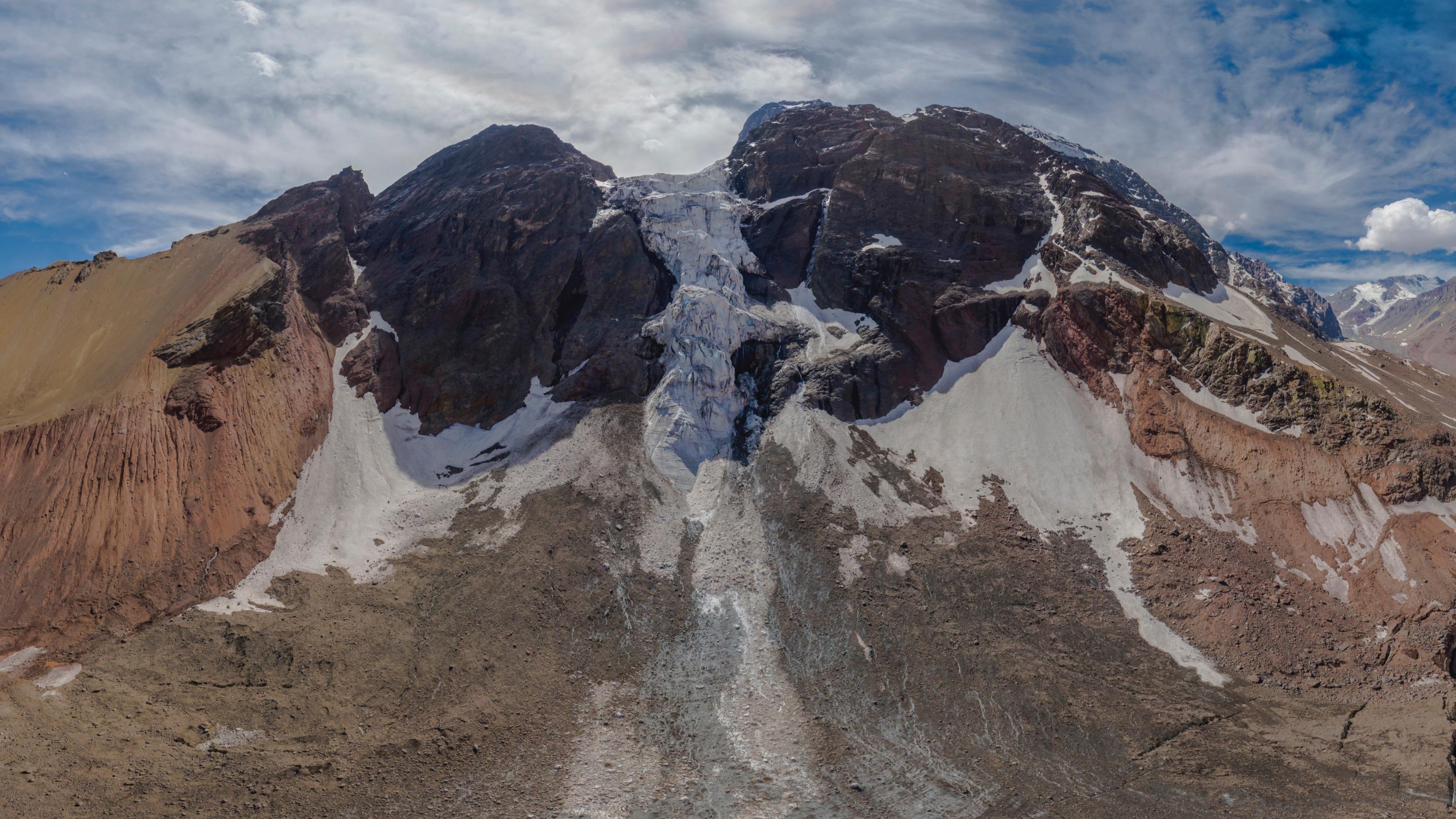 Glaciar El Morado Cajón del Maipo