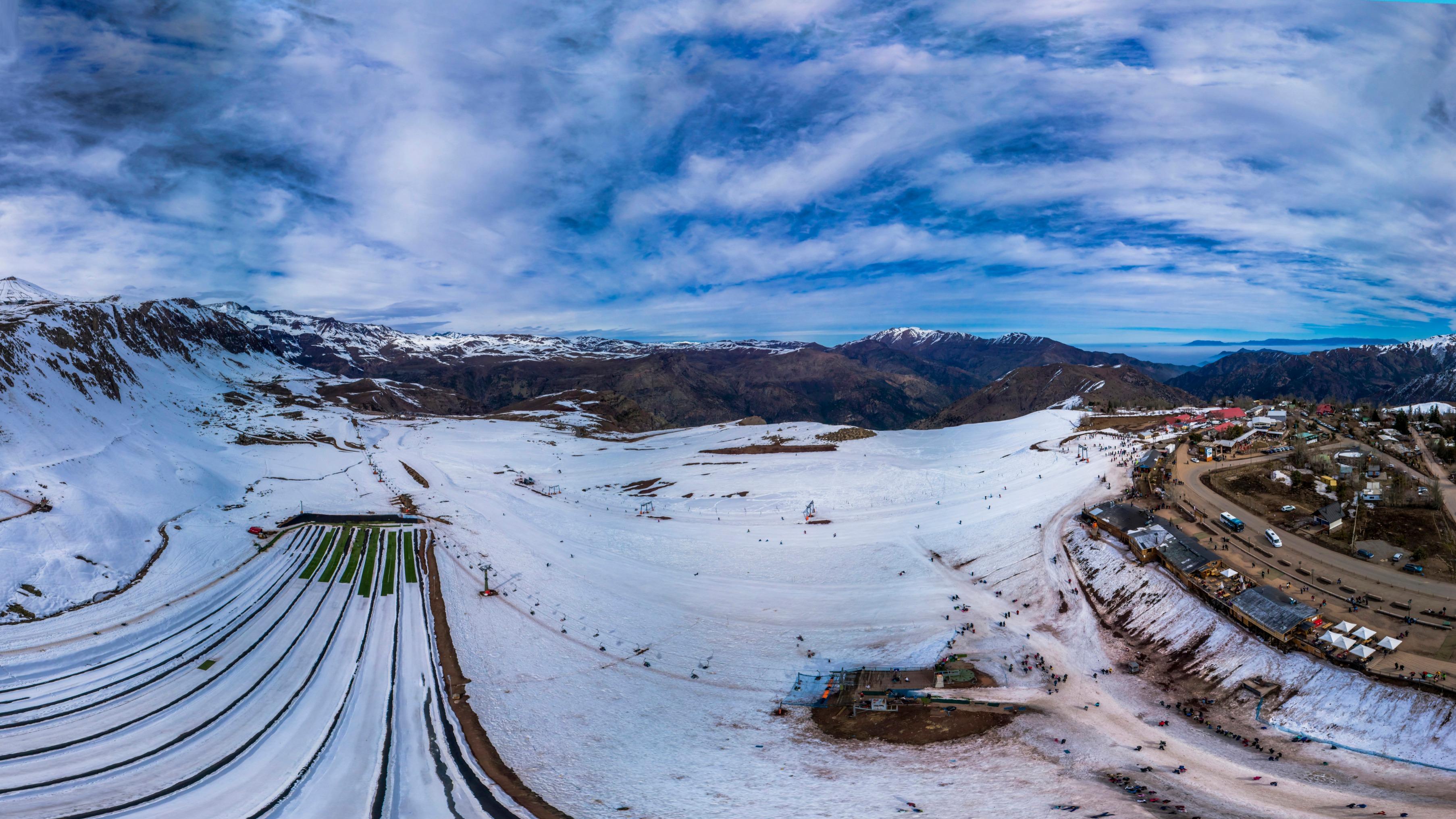 Centro Invernal Farellones Santiago