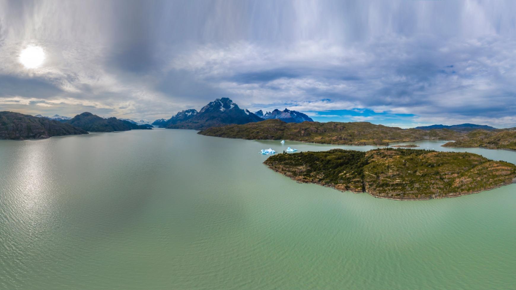 Lago Grey Región de Magallanes
