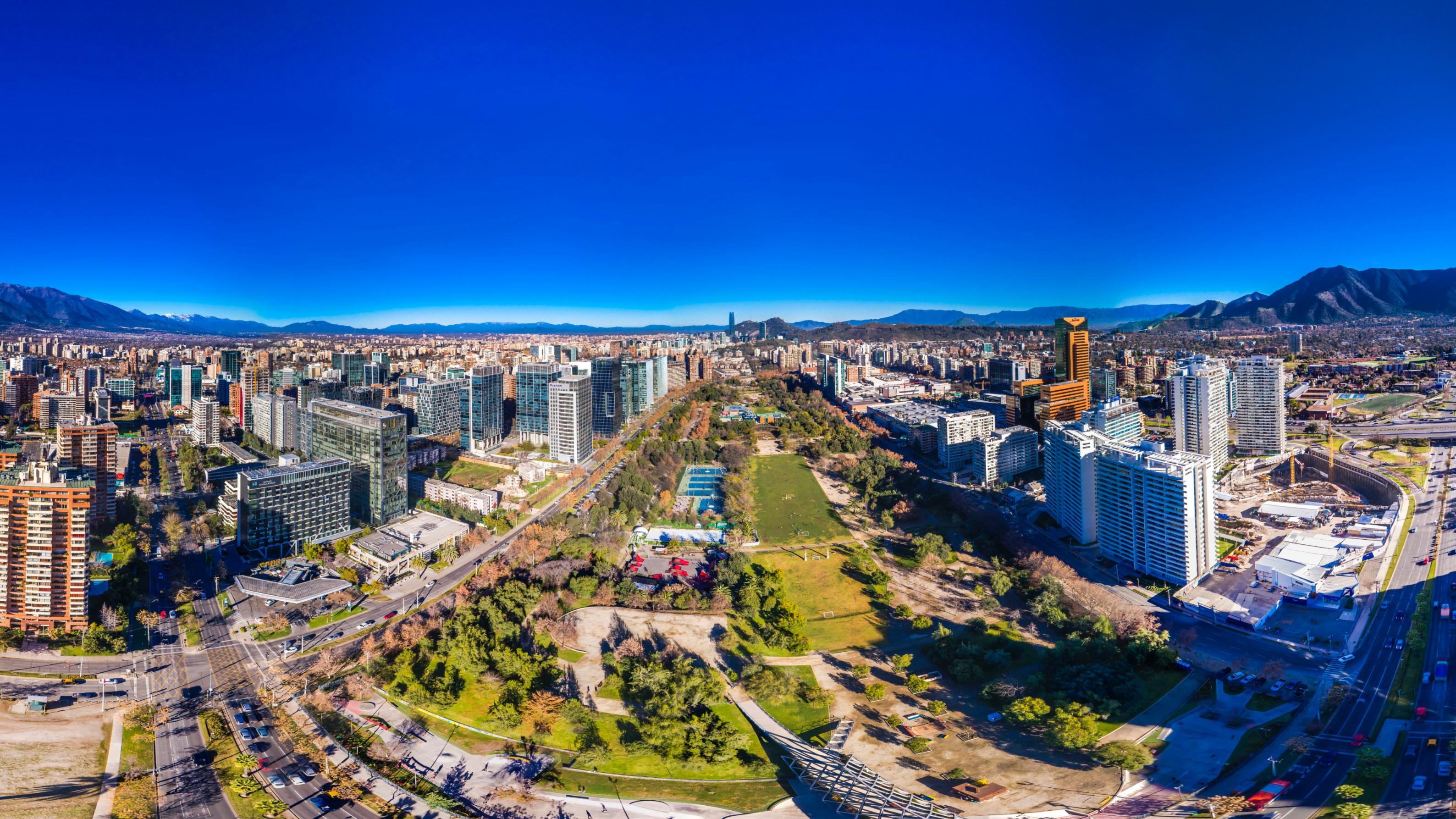 Parque Araucano Santiago