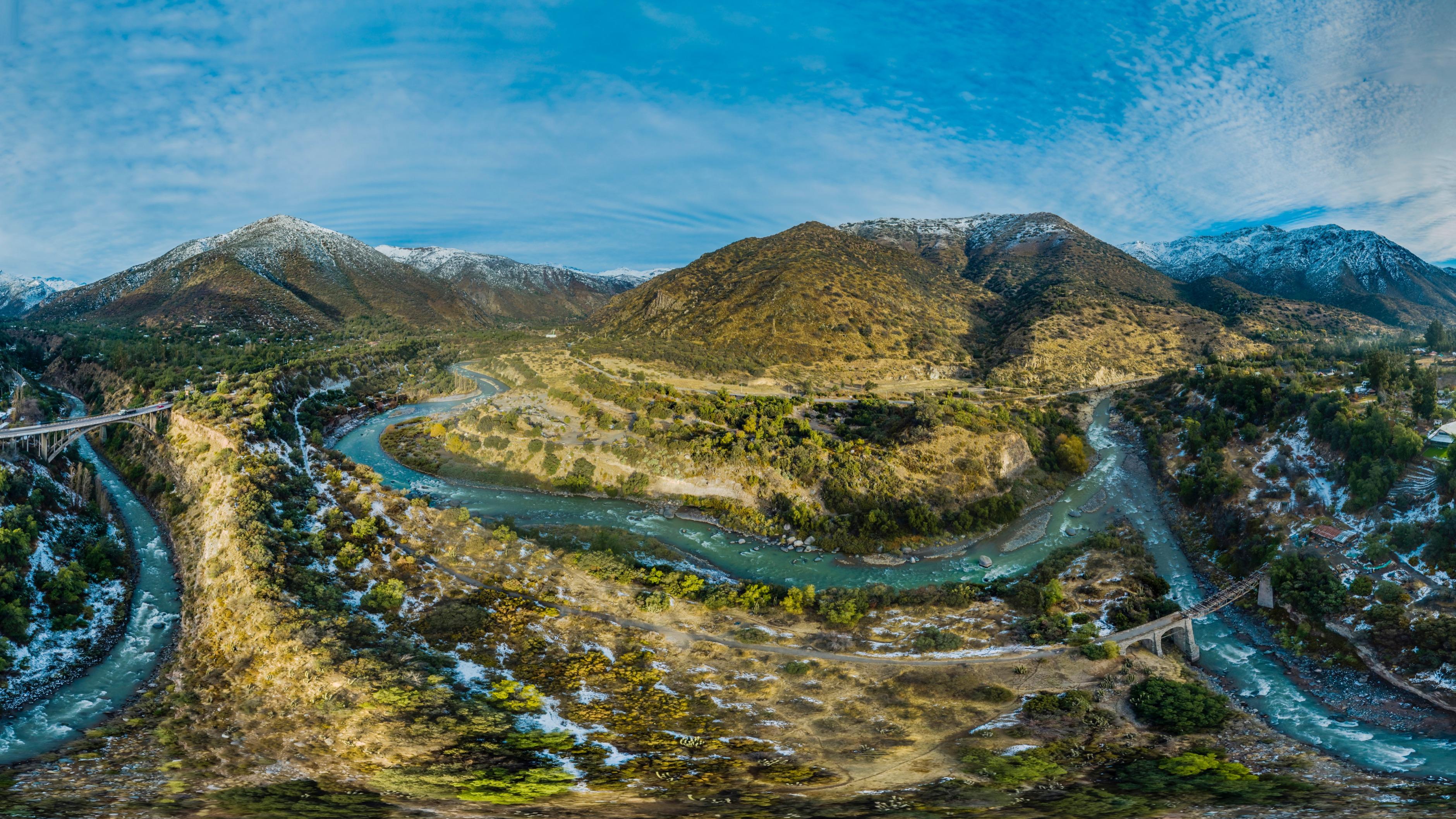 Río Colorado Cajón del Maipo