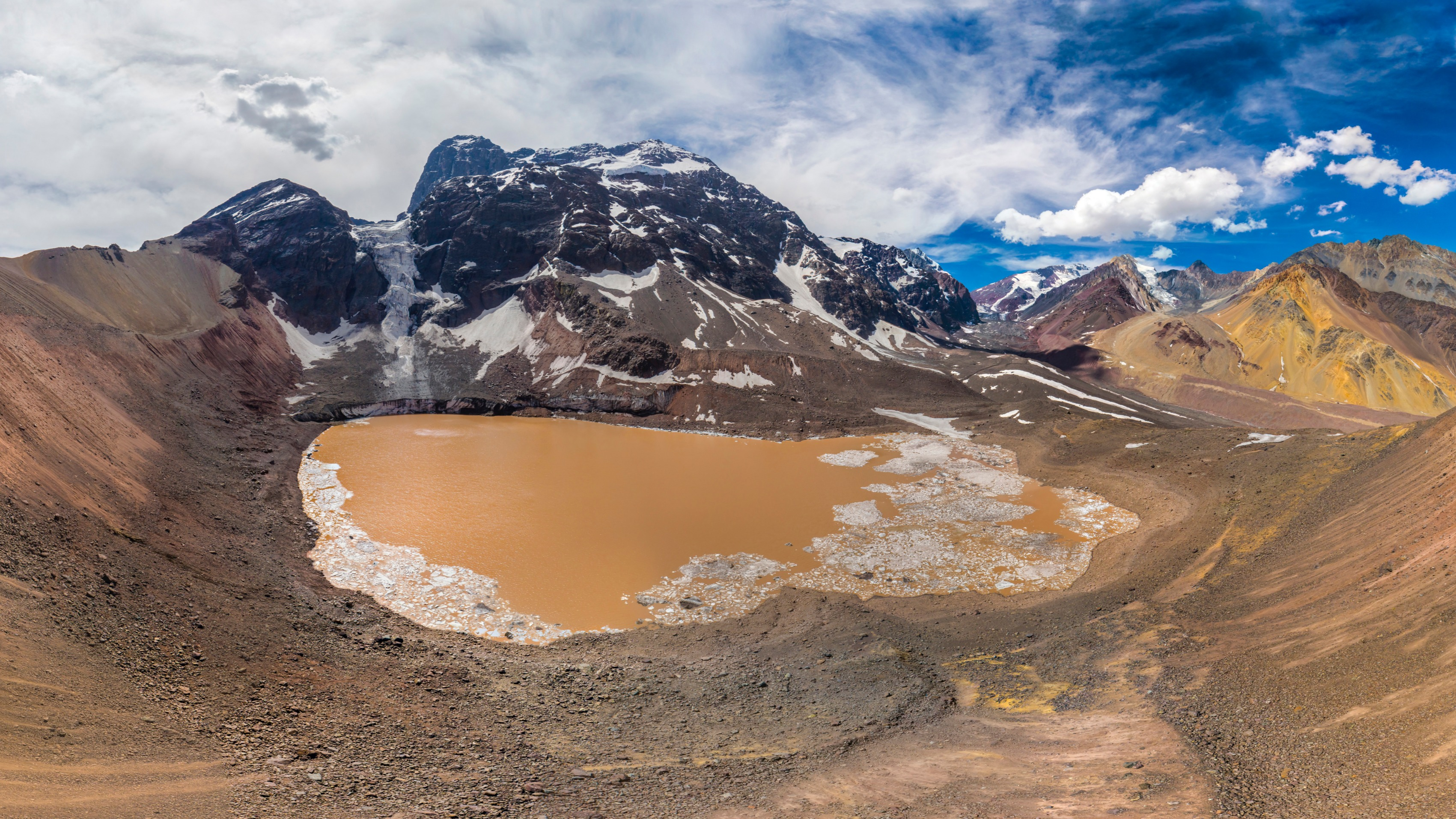 Laguna Glaciar El Morado