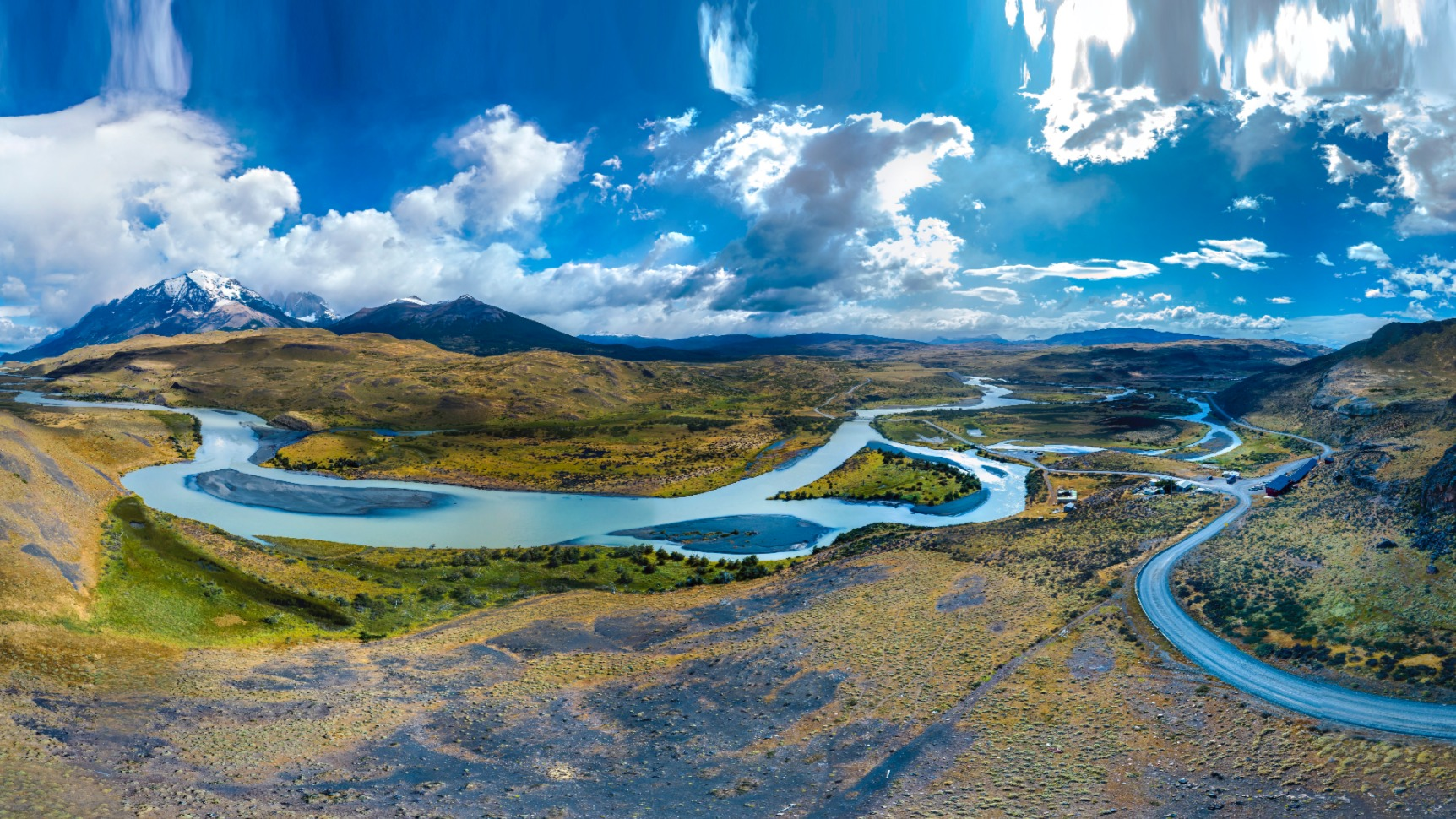Laguna Amarga Torres del Paine Magallanes