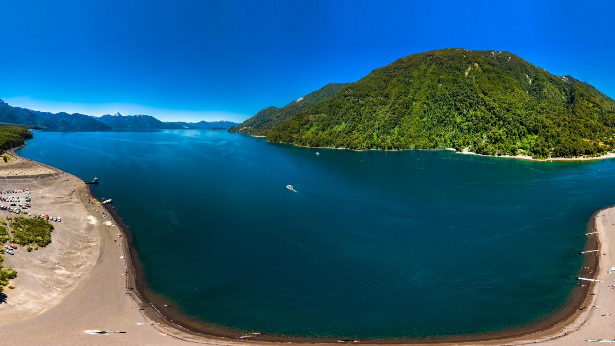 Lago Todos Los Santos Los Lagos