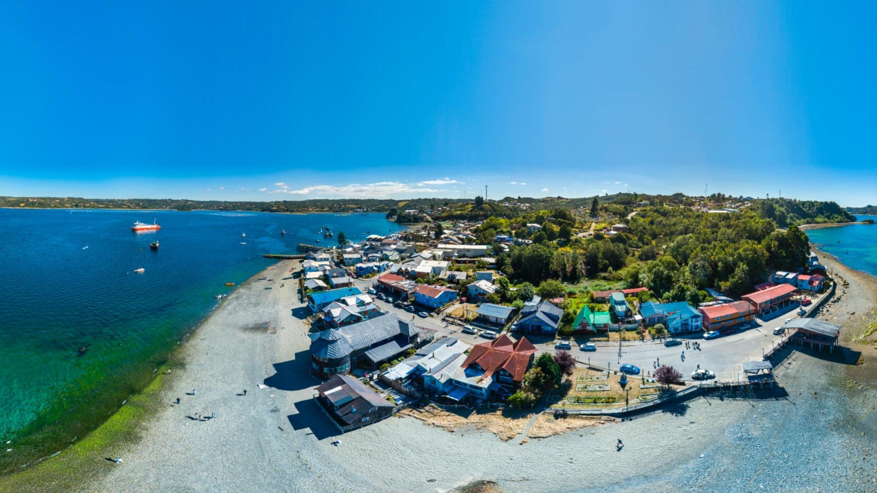 Biblioteca de Quemchi Isla de Chiloé