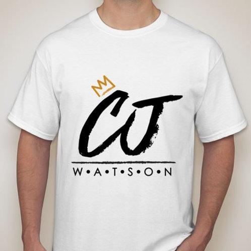 White CJ Watson T-Shirt