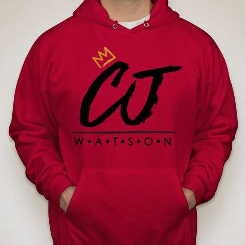 Red CJ Watson Hoodie
