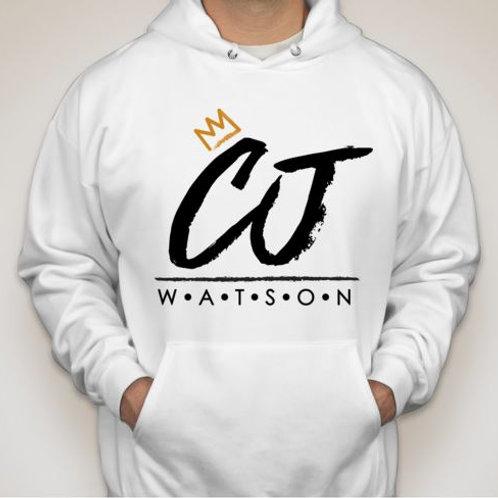 White CJ Watson Hoodie