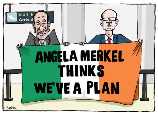 04.04.19 Merkel's visit to Dublin