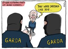 18.09.18 A week where masked Gardai evicted housing activists