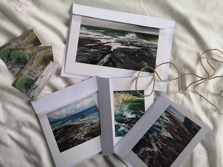 Selection of 4 Art Cards (A5/A6)