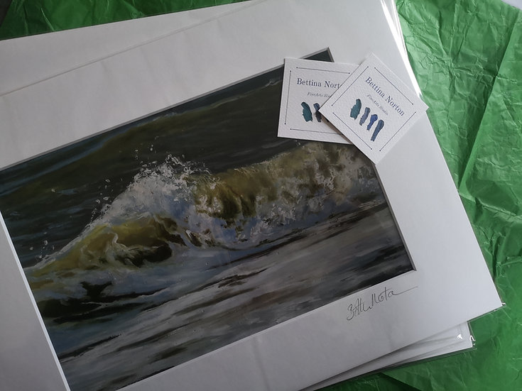 Reverberation limited edition print
