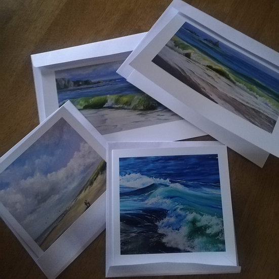 Art Cards A6 (small) bundle of 4