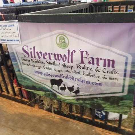 Farm Sign at Fair