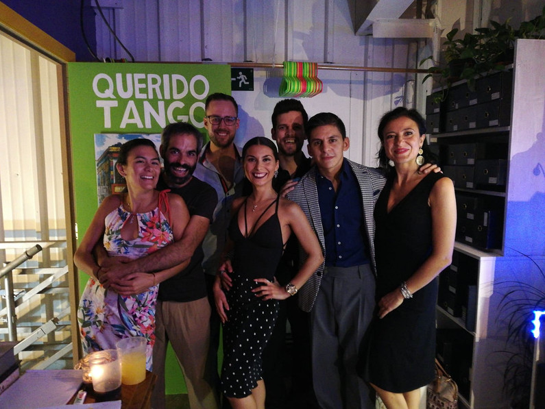 Friends at Querido Tango.jpg