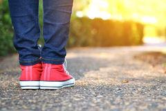 feet-women-walking-park-relax-time-holid