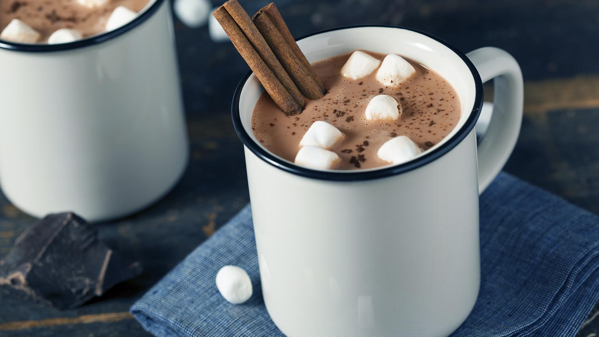 شوكولاتة ساخنة جنو
