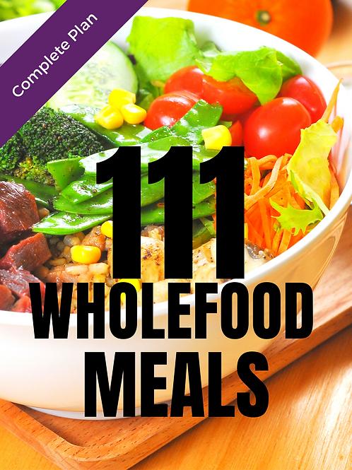 111 Wholefood Meals